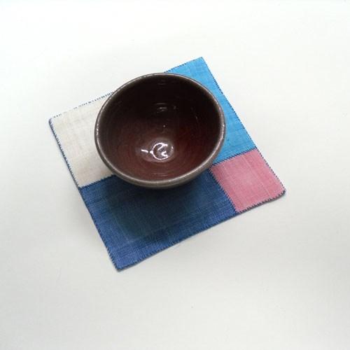 [d.i.y] 모시 조각보 잔받침 만들기