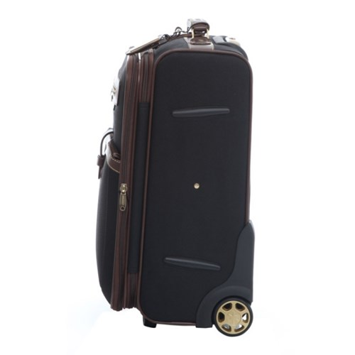 [던롭] NEW F107 19인치 블랙 기내용 소프트케이스 여행가방 캐리어