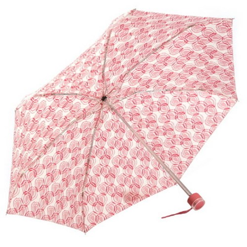 [VOGUE] 보그 5단 수동 우산(양산겸용) - 핑크하트