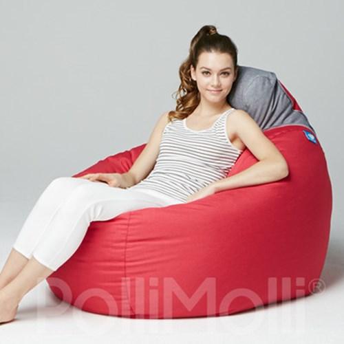 폴리몰리 빈백 소파 104K 핑크 [단품]