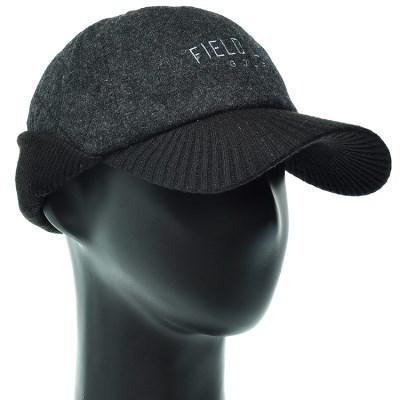 [더그레이]ECO16.니트챙 귀마개 퀼팅 캡모자 골프모자