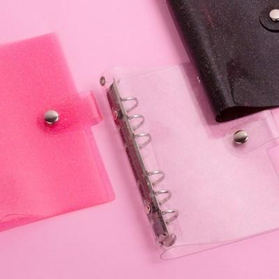 루카랩 6공다이어리 아카이브 PVC 커버 글리터 3종
