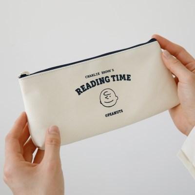 [Peanuts] TIME 펜 케이스_찰리브라운