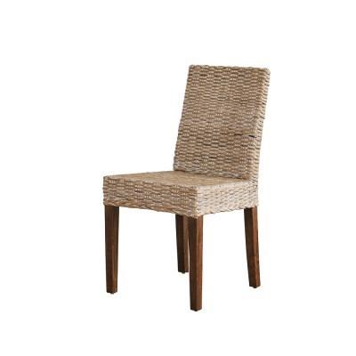 [리퍼브] 왕골 라탄 망고 의자 1+1