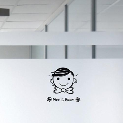 (그래픽스티커)그래피콘-화장실