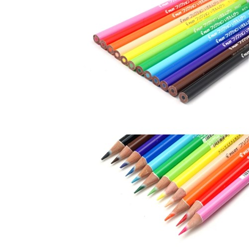 파일롯 프릭션 지워지는색연필(12컬러)