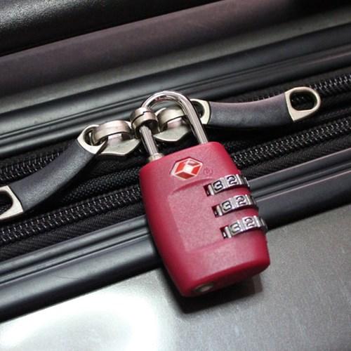 TSA 3다이얼 안전자물쇠