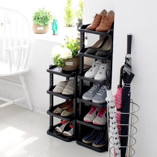 신발정리대 싱글 10단