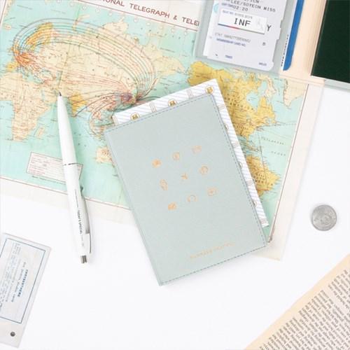 워너비 트래블 픽토 여권케이스