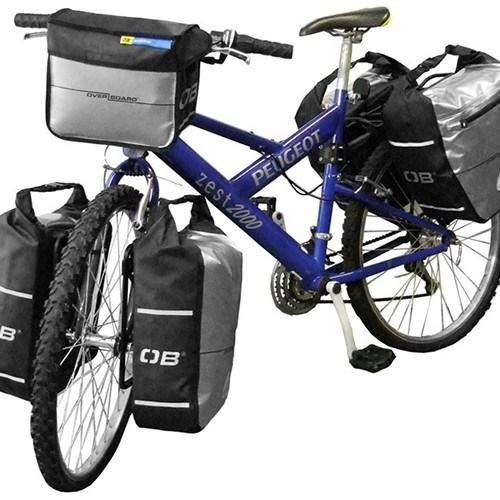 오버보드 자전거 핸들바 패니어 6리터 방수 가방 [OB1075BLK]