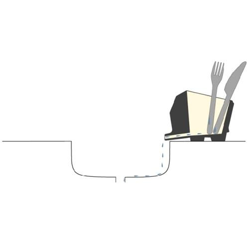 벨렉 디자인(Peleg Design) 점보 코끼리 수저통 크림