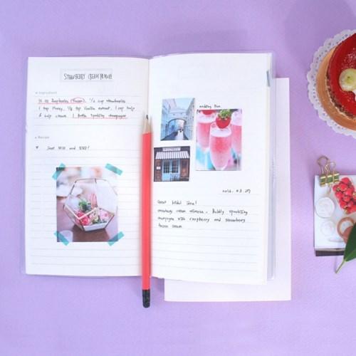 레시피노트 Recipe note