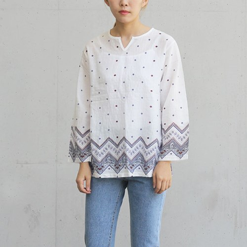 ethnic BLouse (2-color)