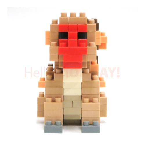 [나노블럭] 원숭이