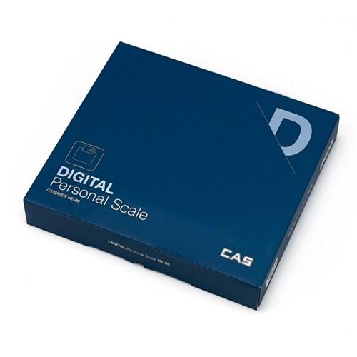 카스(CAS) 화이트백라이트 디지털 체중계 HE-80