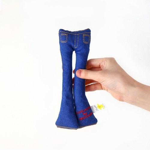 [PetToy] Squeaky Blue Jean (청바지)빠스락삑삑
