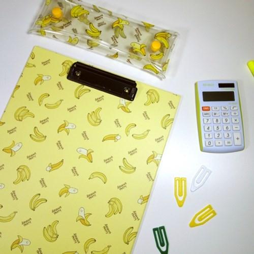 바나나 패턴 클립보드