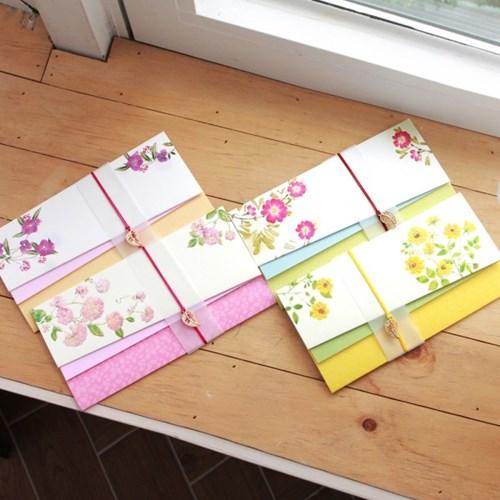 낮달맞이 꽃 축하봉투 / 035-ME-0042