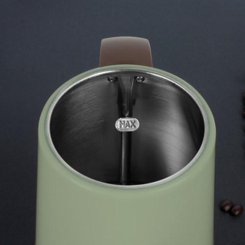 제니퍼룸 커피드립 전용 전기주전자 JR-K3805OB 올리브