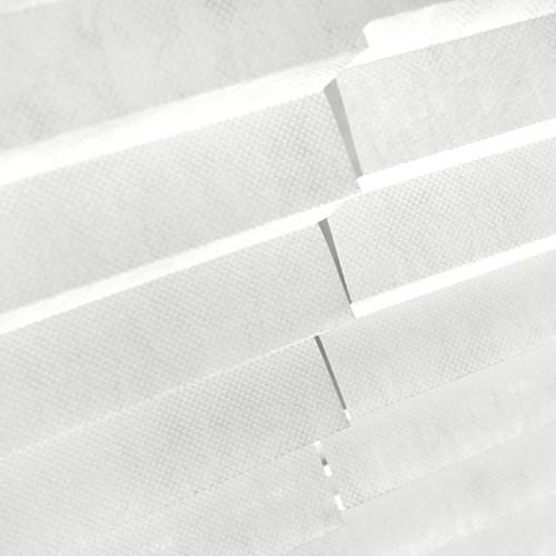 화이트/블랙 부직포 간편 블라인드