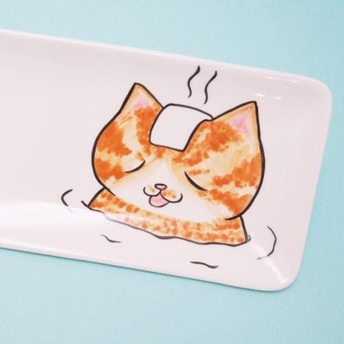 온천냥 직사각 접시 시리즈