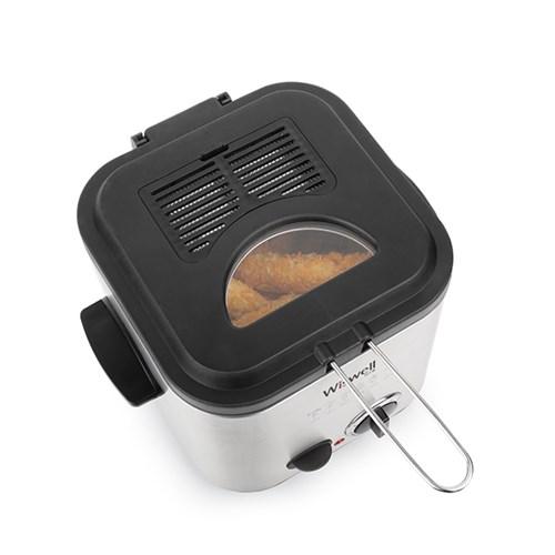 위즈웰 WH2100 딥프라이어 미니/튀김기/돈까스/치킨/감자튀김