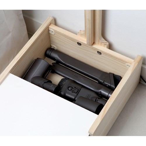 다이슨거치대 수납가능 원목 청소기거치대 전기종(도장완료)