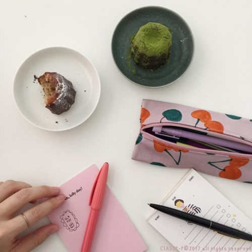 pencil case for adults (방수 필통)