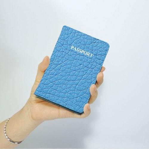 가죽 이니셜 여권케이스
