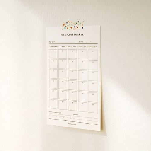 Goal Tracker – 30days