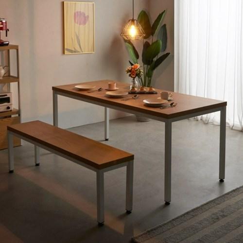 [e스마트] 스틸헤비 테이블 1800x600 (일자다리) 40T_(11394434)