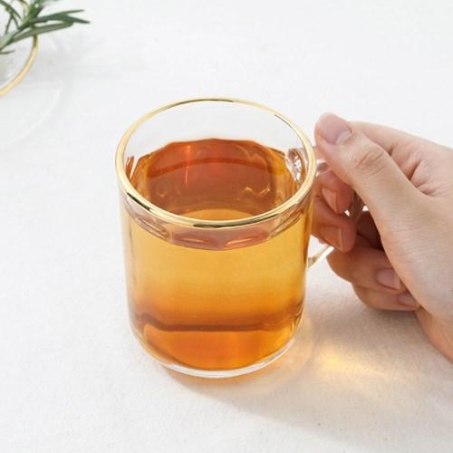 매일리 골드 비어 컵 (200ml)