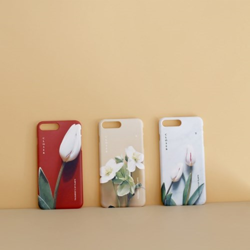 CLOSER helleborus phone case (TALKABOUT x OF PLANTS)