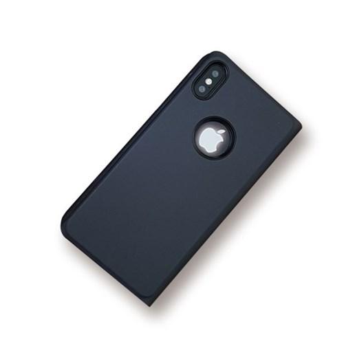 [ARTIBABA] 아이폰X 투명 미러 플립 뷰 케이스_(796361)