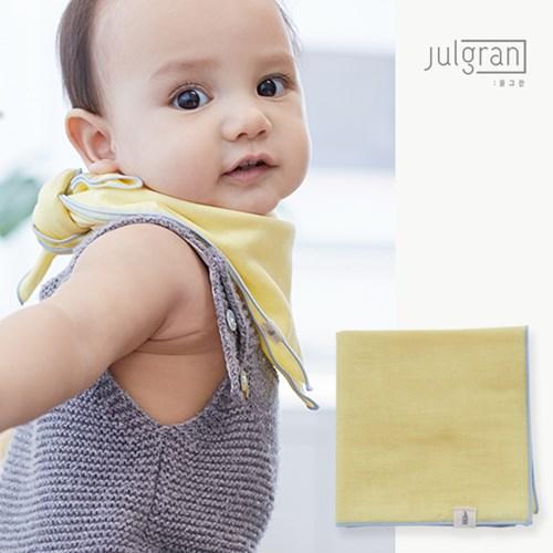 [율그란] 무형광오가닉 거즈 유아스카프 (아기손수건 겸용) 12컬러