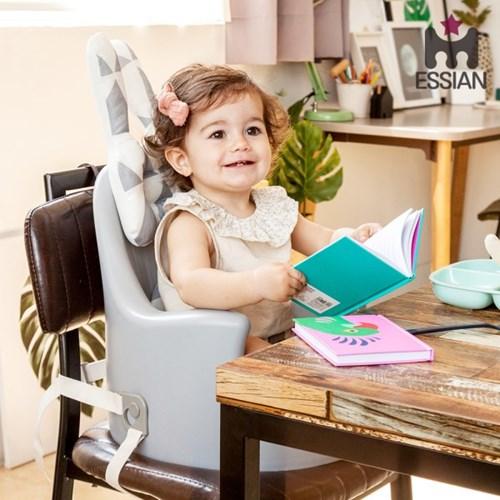 [리드줄 증정] 아기의자 P-Edition+래빗베개 유아 이유식의자