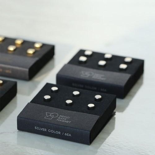 memo safe magnet / 자석 마그넷 (6개입)