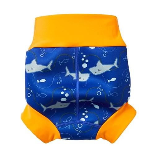 리유저블 수영장기저귀 뉴 해피내피(샤크오렌지)