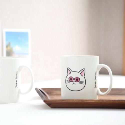 고양이 머그컵 15oz - 2type