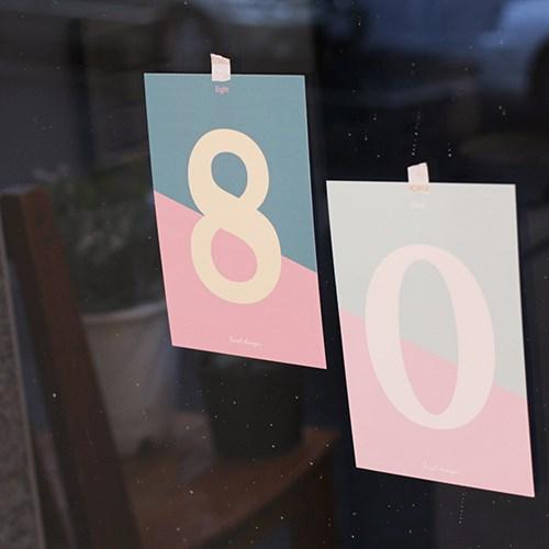 아이씨엘 number post card