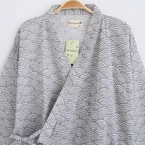 청년리빙 구름 유카타 커플 잠옷