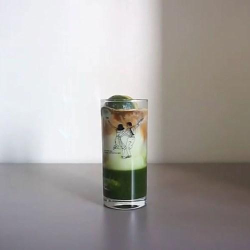 라라랜드 드로잉 cup