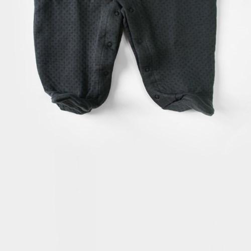 [메르베] 줄무늬속다이아 신생아 우주복/북유럽아기옷__(1132910)