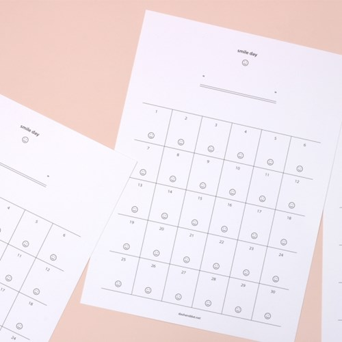 2019 Have a nice month 캘린더 플래너