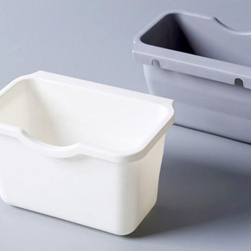 싱크대 걸이식 다용도 쓰레기통/음식물 쓰레기 씽크대쓰_(902253)