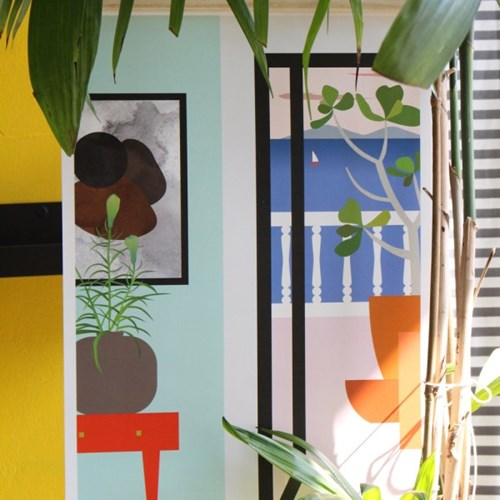 공간 디자인 포스터 래스트 (휴식) A3, A2