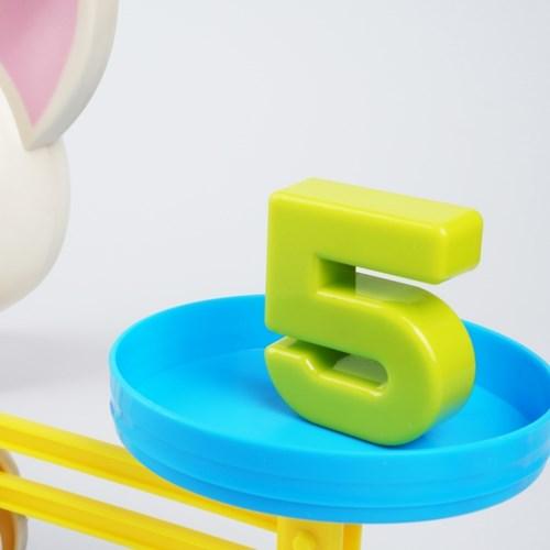 레츠토이 숫자 저울 유아 수학 교구 즐거운 숫자놀이 장난감 피그