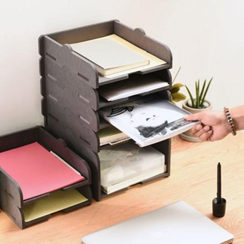 런메이크 층층이 서류정리함/파일보관함 책상사무용품