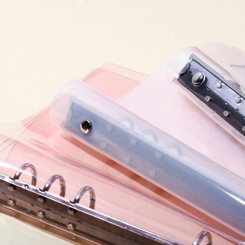 [텐텐문방구] A5 투명 커버 (6공다이어리용/5종)