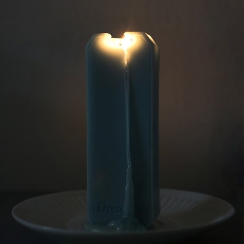message candle_dreamer_sky blue